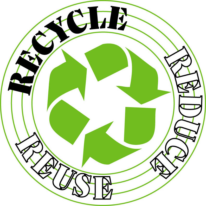 Recycle - donate used items so that the material can be used to make ...