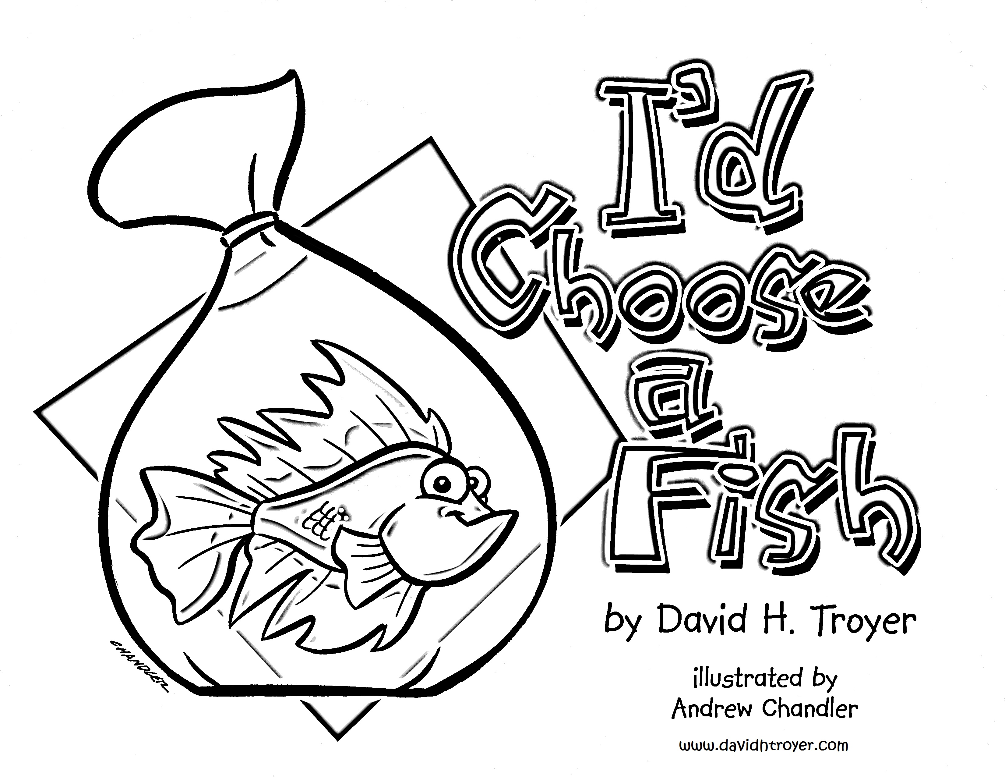 Front Cover Coloring Page